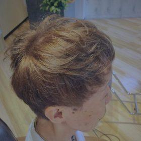 白髪ハイトーンカラー